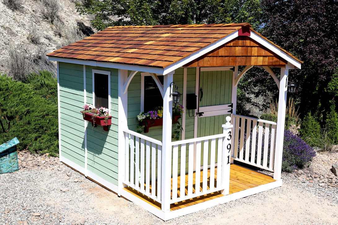 Outdoor Living Today 8'x12' Santa Rosa Garden Shed (SR812) - MKSheds