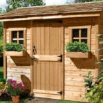 Outdoor Living Today 9'x6' Cabana Garden Shed (CB96) - MKSheds