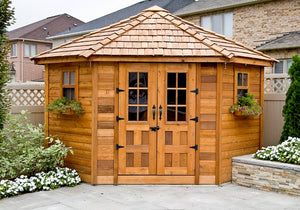 Outdoor Living Today 9'x9' Penthouse Garden Shed (PEN99) - MKSheds