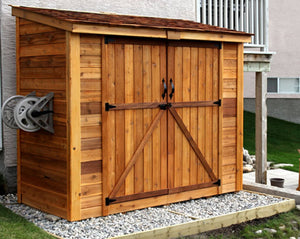 Outdoor Living Today 8'x4' SpaceSaver with Double Doors (SS84D)