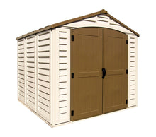 DuraMax 8'x8' Duraplus Vinyl Shed with Floor Kit (30114) - MKSheds