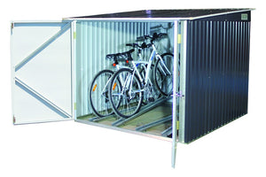 DuraMax 6'x6' Bicycle Storage Shed in Anthracite (73051)
