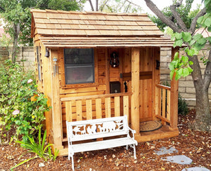 Outdoor Living Today 6'x6' Little Cedar Playhouse (LCP66)