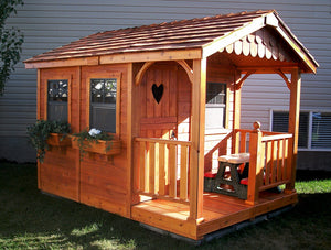 Outdoor Living Today 6'x9' Sunflower Playhouse (SP69) - MKSheds