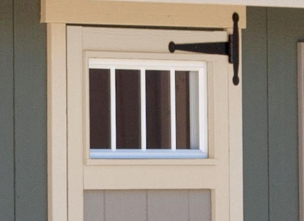 EZ-Fit Transom Windows in Single Door