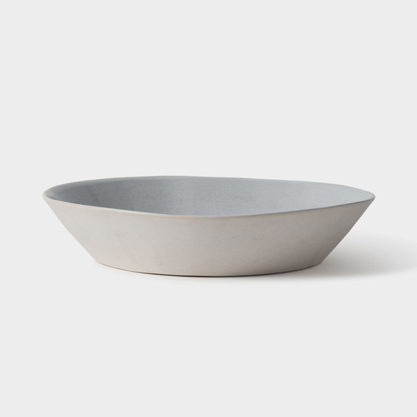 Finch Serving Bowl Grey/Natural
