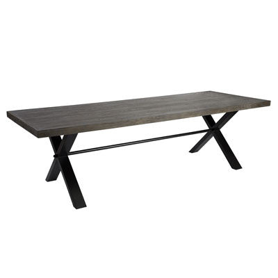 Montana X-Leg Dining Table 2.6m
