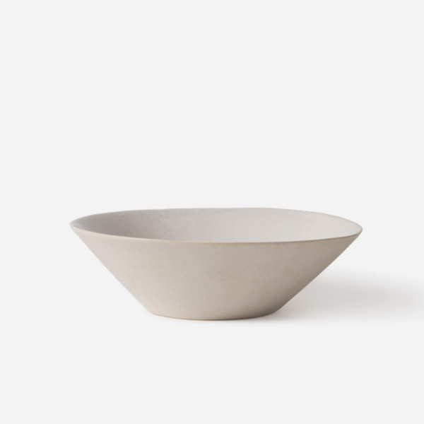 Finch Salad Bowl White/Nat