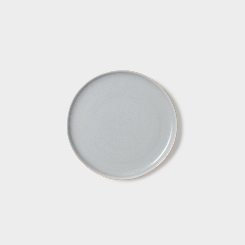 Finch Side Plate Grey/Natural