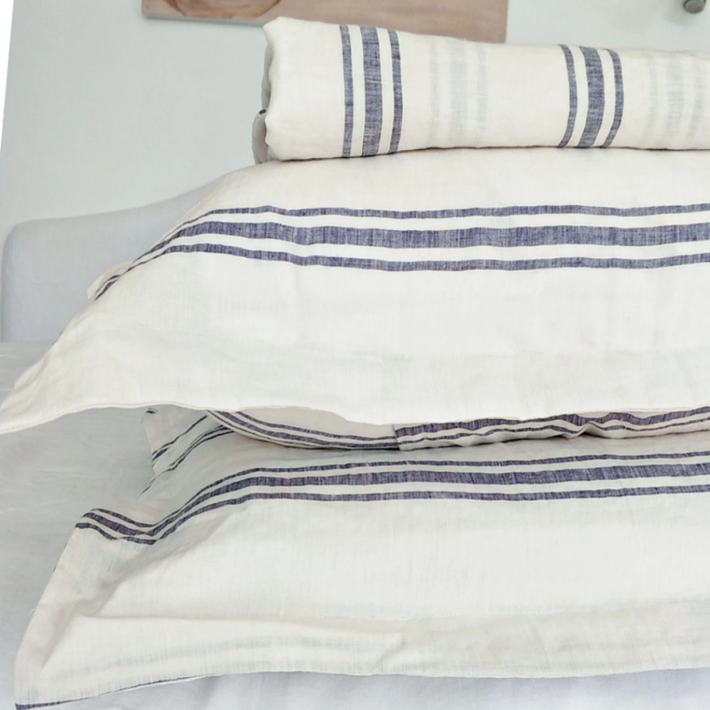 Chios French Linen Duvet Set KING