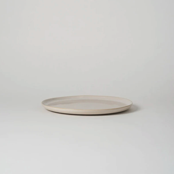 Finch Dinner Plate White/Natural- 28cm