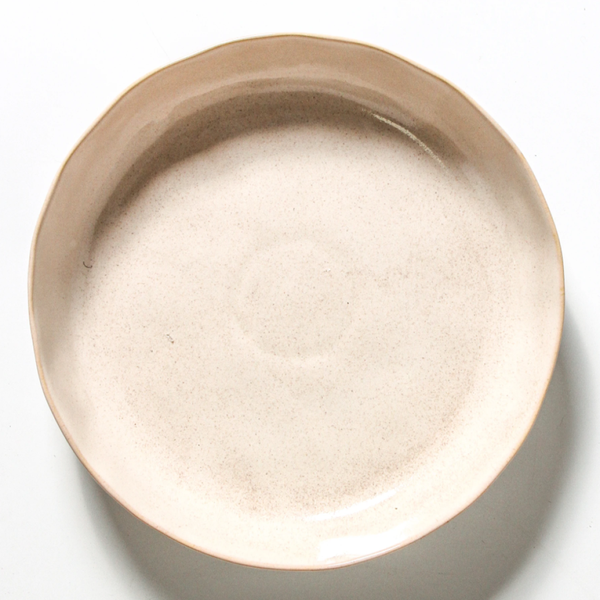 Aurora Salad Bowl O/White