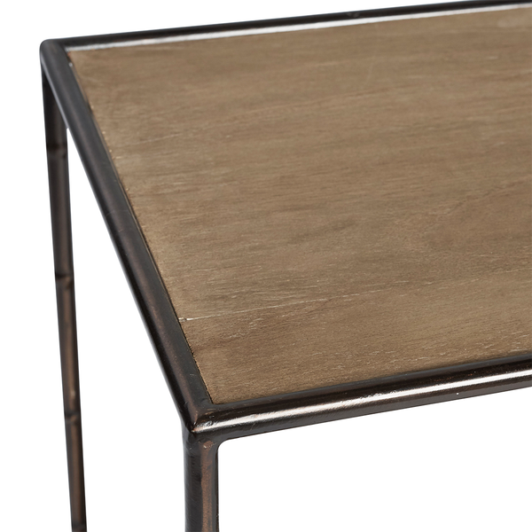 Manhattan Walnut Side Table