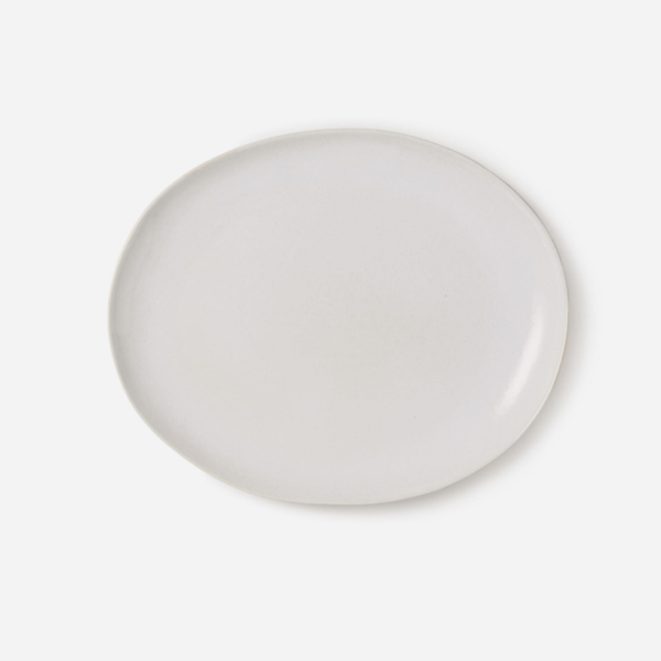 Finch Oval Platter White/Natural