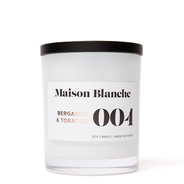 Bergamont & Tobacco Large Candle