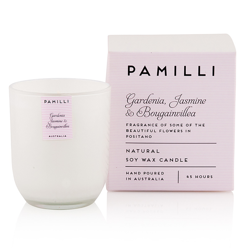 Boxed 45hr Soy Candle - Gardenia