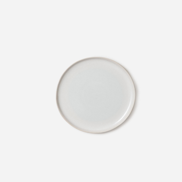 Finch Side Plate White/Natural