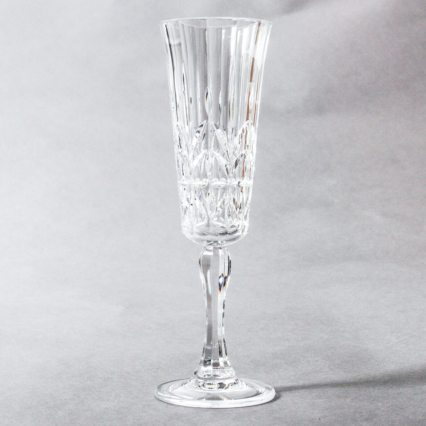 Pavillion Acrylic Champagne Flute Clear