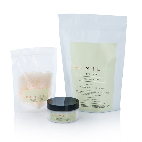 Coconut & Lime Spa Pack