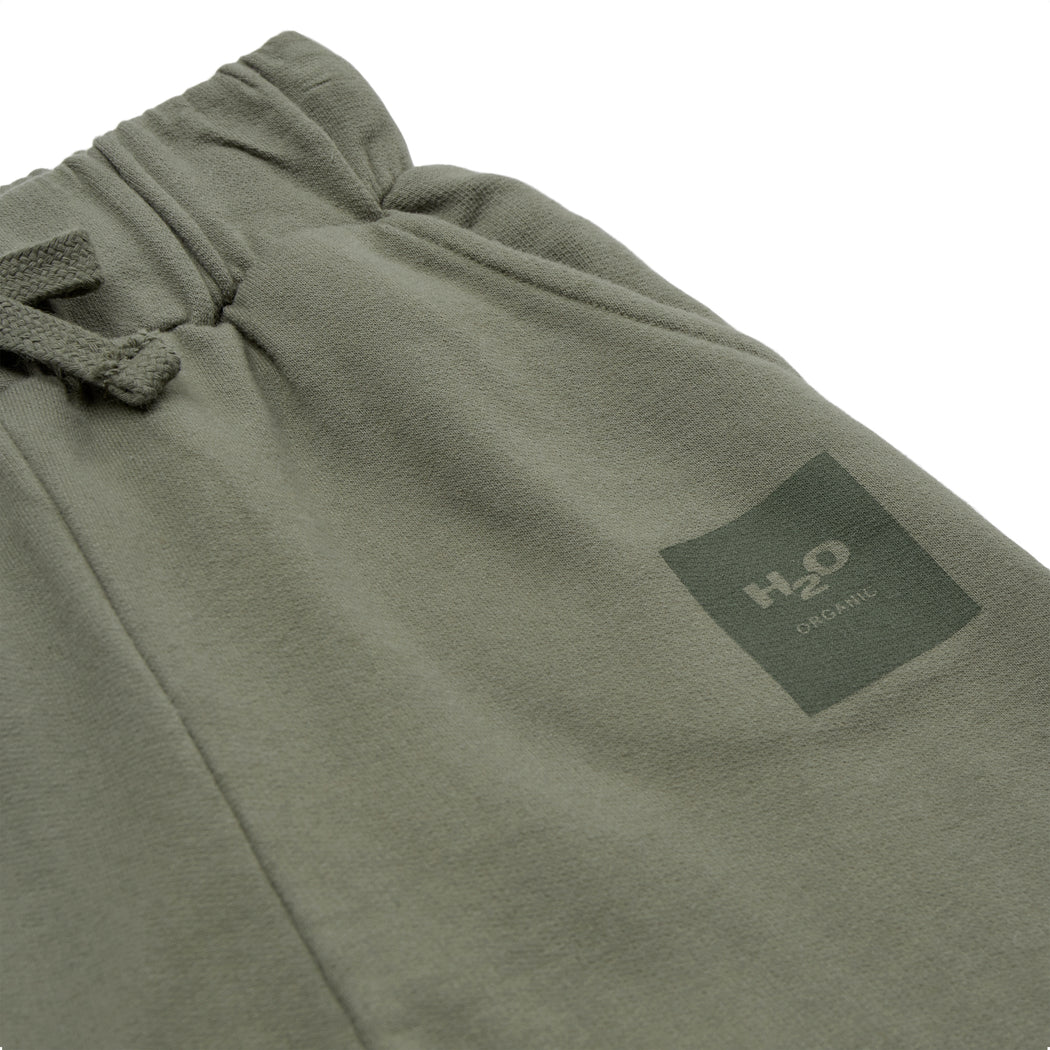 H2O Basic Authentic Kids Sweatpant Pants 3033 Dusty Army