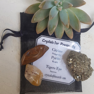 Crystals for Prosperity  kit