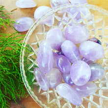 Load image into Gallery viewer, Amethyst  Tumbled  Crystals, Healing Crystals