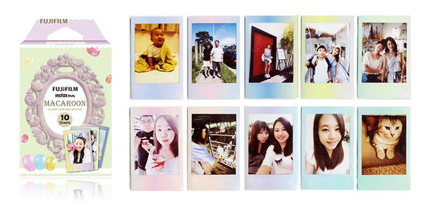 NEW Items of Fujifilm Instax Mini Macaroon Instant Film