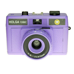 Holga 135 BC Camera / +15B Color Flash / +Shutter Cable - 4 Color