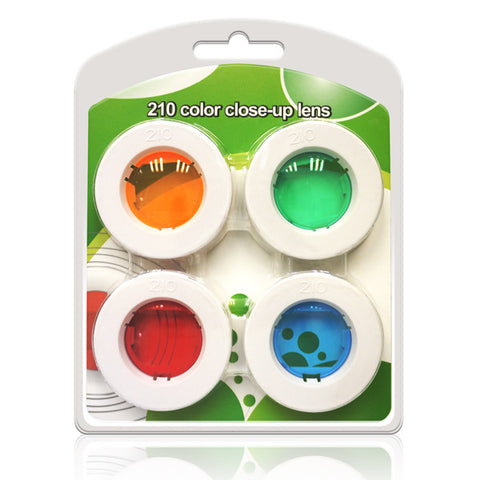 4 Color Filter Lens Set for Fujifilm Instax Wide 210 Instant Camera