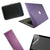 "Macbook Air 13"" / 13.3"" Hard Case / Keyboard Skin + Protector + Bag - CRYSTAL, Gloss"