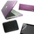"Macbook Pro 13"" / 13.3"" Hard Case / Keyboard Skin + Protector + Bag - CRYSTAL, Gloss"