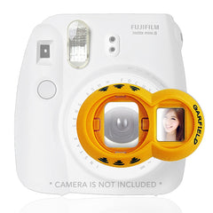 Garfield Close up Lens Selfies for Fujifilm Instax Mini 7 7S 8 & Polaroid 300 Camera