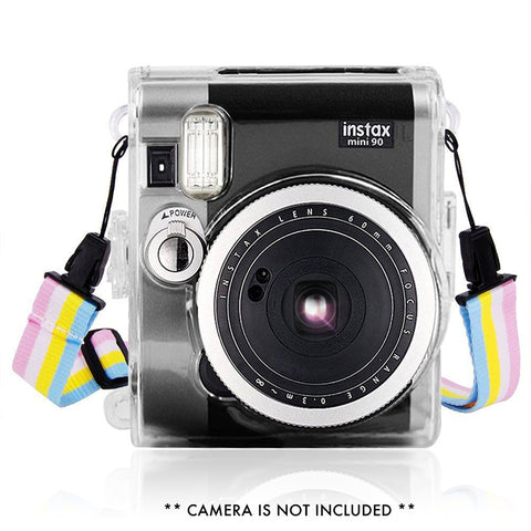 Fujifilm Instax Mini 90 Camera Protective Case with Shoulder Strap
