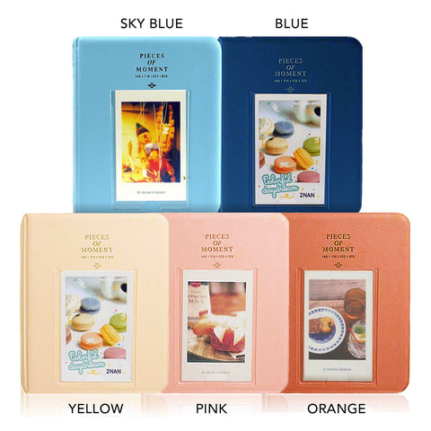 Pieces of Moment Pocket Album 64 Sheets for Fujifilm Instax Mini Instant Film