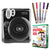 Fujifilm Instax Mini 50S Piano Black Instant Camera + Instax Mini Film + Pen + Leather Case