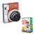 Fujifilm Instax Mini 90 NEO Classic Instant Camera - 2 Colors + 20/ 50/ 100 Films