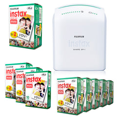 Fujifilm instax Share SP-1 Smartphone Printer for iPhone & Android + 20 / 50 / 100 Film
