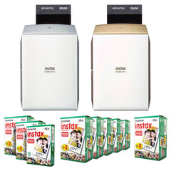 Fujifilm Instax Share SP-2 Smartphone Printer + Mini White Edge Instant Film
