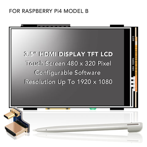 "MHS 3.5"" LCD HDMI Touch Screen Display"