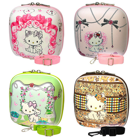 Charmmy Kitty Hamburger Hard Bag for Fujifilm Instax Mini Camera Series