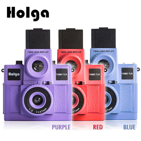 Holga 135BC TLR Twin Lens Reflex 135mm Film Lomo Camera