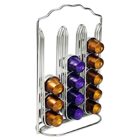 Nespresso Coffee Capsule Metal Holder Rack Stand For Store 30 Capsules