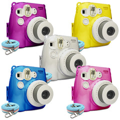 Fujifilm Instax Mini 8 Crystal Protect Case by Takashi (4 Colours)