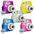 Fujifilm Instax Mini 8 Camera Protective Case with Shoulder Strap - 5 Colors