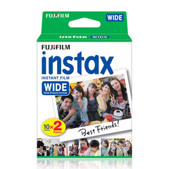 Fujifilm Instax Wide White Edge Instant Film