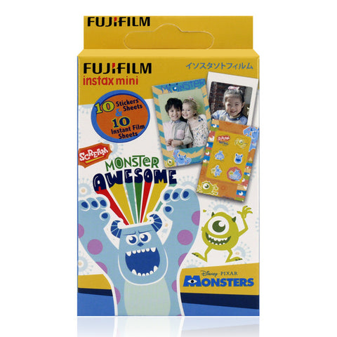Disneyland Exclusive Fujifilm Instax Mini Disney Monster Instant Film