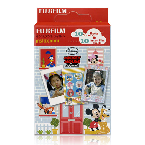 Disneyland Exclusive Fujifilm Instax Mini Disney Mickey Instant Film