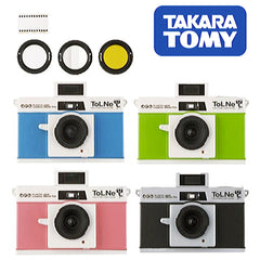 TAKARA TOMY Plastic Camera with Built-in Flash Special Filter Series