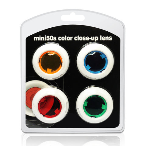 Color Close Up Filter Lens Set for Fujifilm Instax Mini 50S
