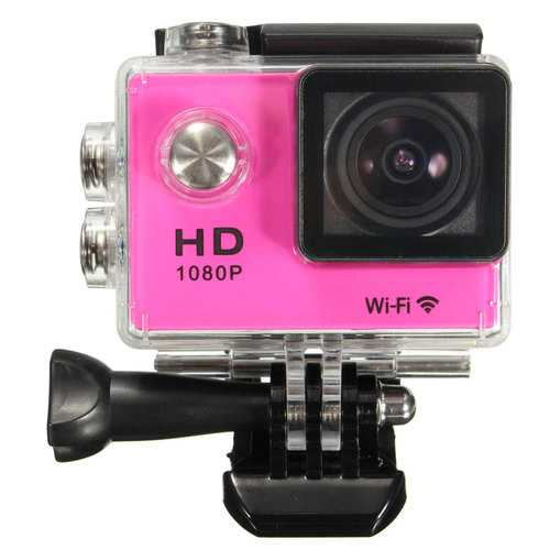 SJ5000 1.5 Inch 1080P FHD WiFi Mini DV Car Action Waterproof Sport Camera Buit-in Lithium Battery
